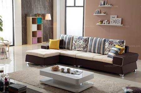 专属小户型现代风格沙发摆放