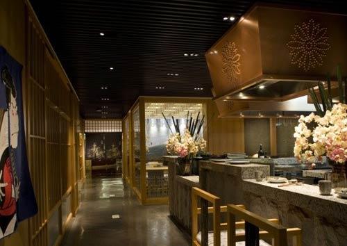 新浦日式料理店装修案例