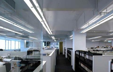 新浦大型写字楼办公室装修设计