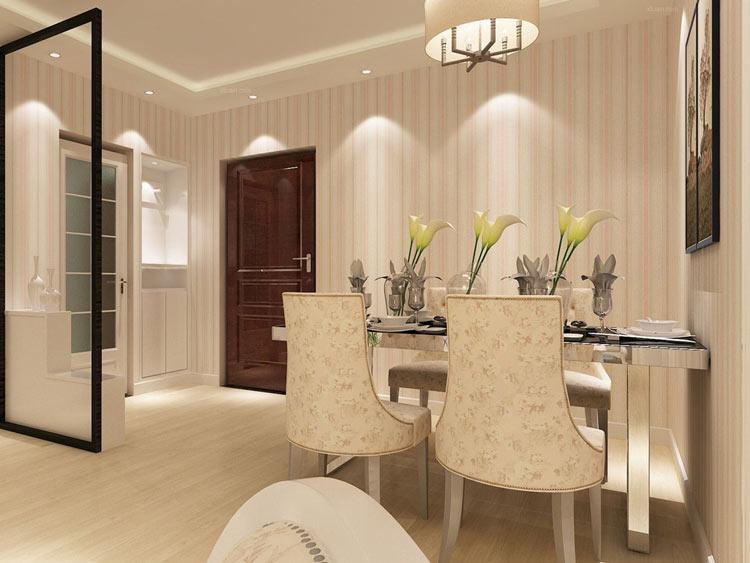 大麦装饰现代简约餐厅设计