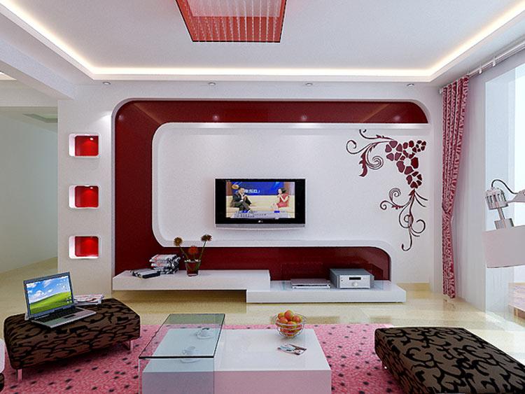 大麦装饰现代简约背景墙设计